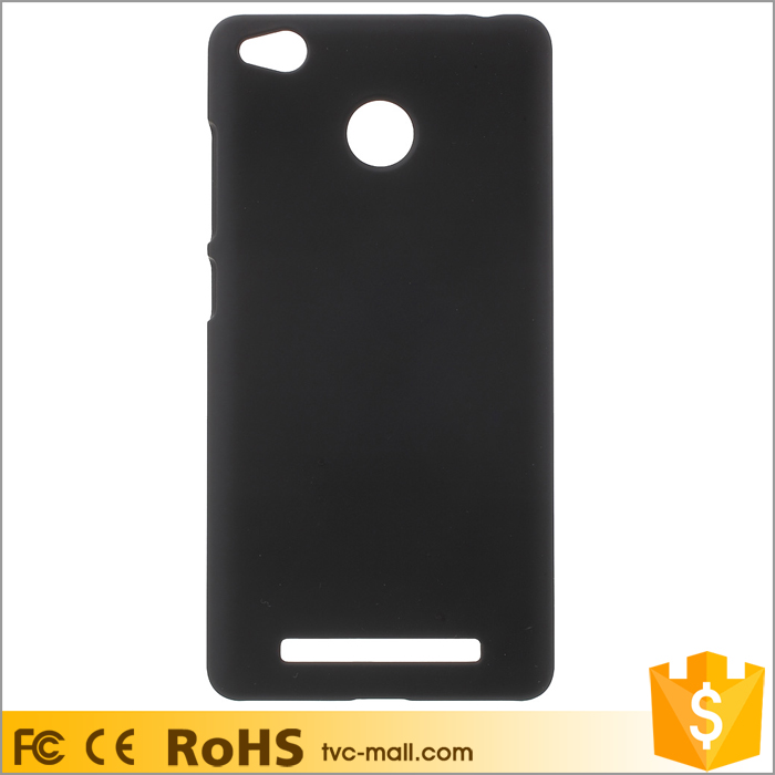 Rubber Coating PC Hard Phone Case for Xiaomi Redmi 3s