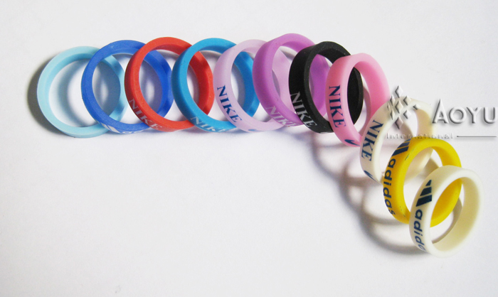 silicon wristband gift item silicone bracelet for nike