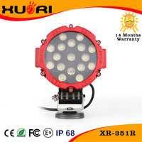 "Best Selling 51W 7"" C ree Led Round Spot Driving Light Offroad 4*4 Atv Ute Truck Work Lamp 10-30V DC"