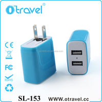 2016 universal mini usb charger foldable us plug charger Micro USB Home Wall Travel Charger with eu us plugs
