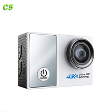 "4K camera 30fps 2""inch C5 Sport Camera WIFI FULL HD MINI Action Camera with waterproof case"