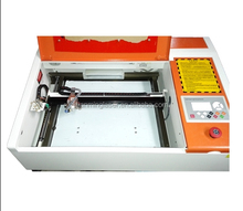 rubber acrylic wood 300*200mm 40w small laser cutter machine for home business