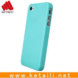 Plain Handphone Case For Iphone 5 With ISO BV FDA Certificate