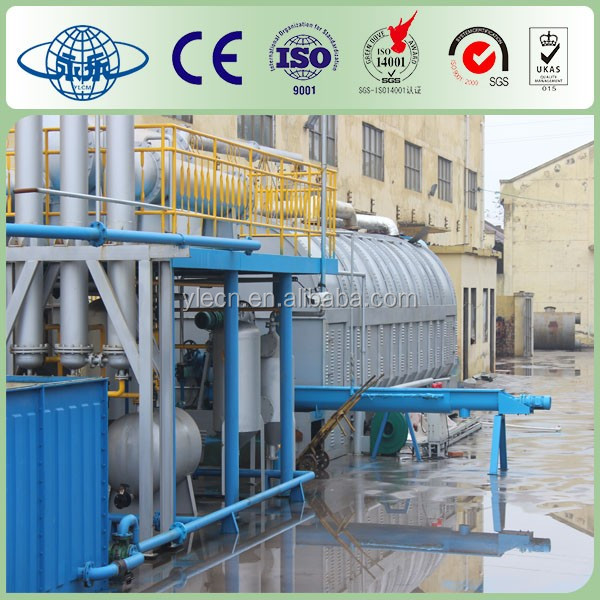 Waste Black Oil/Plastic To Fuel Oil Plant/Crude OIl Extraction