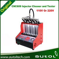 Economical Gasoline Car Injector Cleaner And Tester CNC600 Auto Washing Machine