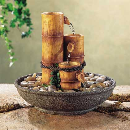 Alabastrite BamBoo Fountain