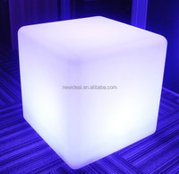 40x40x40cm IP65 water proof led ice cubes, led cube with CE,ROSH certification (NJ1530-L)