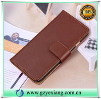 New products 2016 wallet leather flip cover for sony xperia z5 compact pu leather wallet stand case with card slot