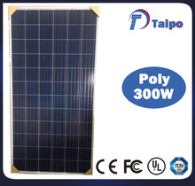 2018 Competitive Price Double Glass 300w Solar Panel With 1WP