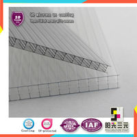 Multiwall hollow polycarbonate sheet,workshop Environmental protection