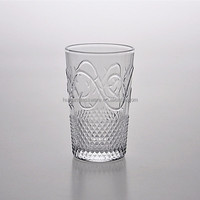Wholesale Rattan Drinking Glass Cup