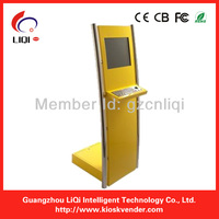 LIQI touch screen information kiosk with keyboard