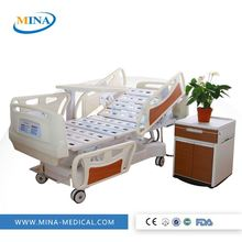 MINA-MB4002 clinic bed with wheels hospital bed comforters for hospital