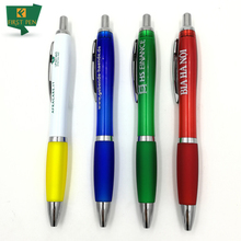 Top Quality Click-Action Plastic Pen With Logo
