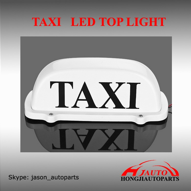 Taxi LED top Lamp Light, Magnetic Base LED Lights Lamp for Taxi Car Good quality