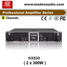S3250 peavey amplifier professional mosfet stereo power 2x300wpower amplifier sound standard