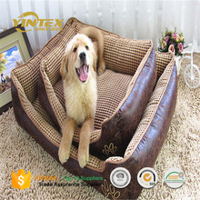 wholesale PV plush dog bed with pp cotton filling pet dog beds pad mat cushion