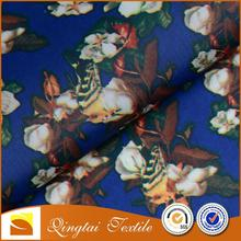 Soft printed Cheap SGS standard polyester pocket lining fabric