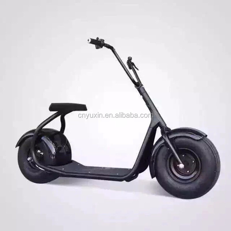 2018 Hot selling 2 wheel citycoco electric scooter 1000W 60V citycoco motorcycle with CE