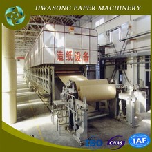 Corrugating Base Paper Machine / Board Paper Making Machine 1575mm