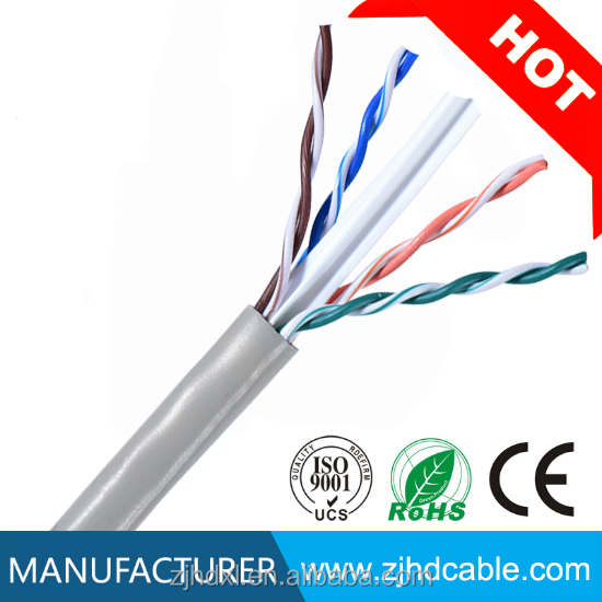 manufactory best price 23awg copper systimax cat6 cable