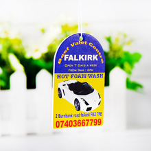 Funny Hanging Bulk Paper Car Air Freshener