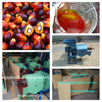 Cold palm oil processing machine and palm oil extraction machine