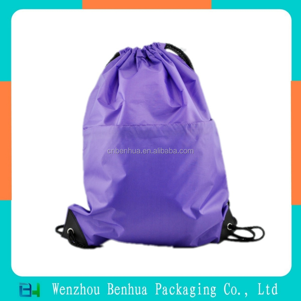 Hot selling beautiful polyester school backpack bag for students