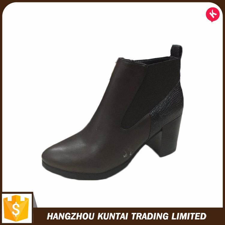 Factory supply attractive price latest europen and american style ankle boots