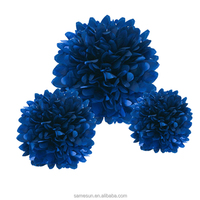 Beautiful tissue paper flower balls decoration for wedding