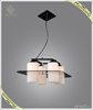 2015 new arrival European style modern glass hanging lighting indoor pendant light