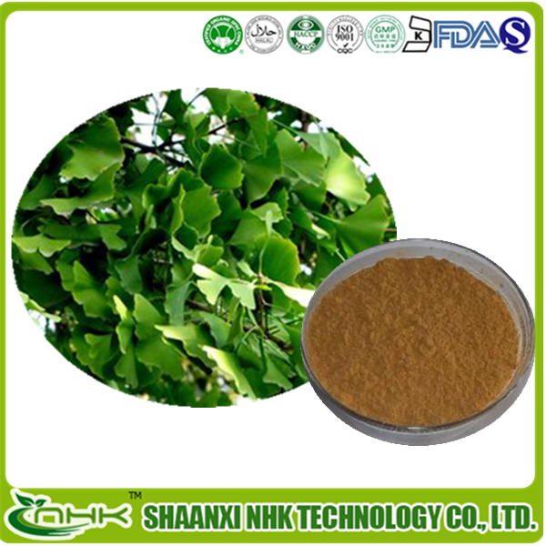 Ginkgo Biloba Leaf Extract /24% Total Ginkgo Flavone Glycosides &. 6% Total Terpene Lactones, &.< 5ppm or <1
