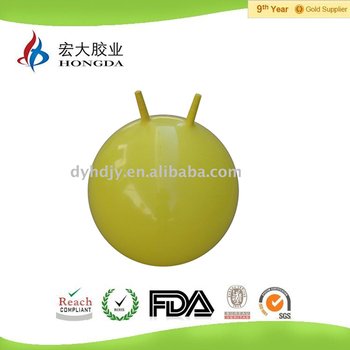 Made of environmentally friendly PVC material hopper ball