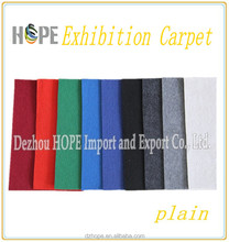Colourful Used 450g Exhibition Carpet For Fairs (more then 50 colors)