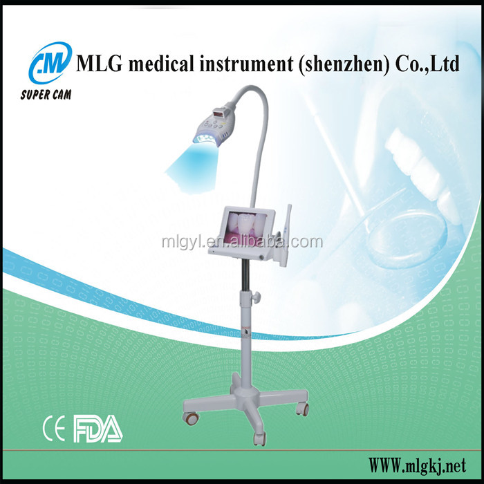 M-86A super cam factory multifunctional 8 inch LCD led teeth lamp supply/teeth bleaching instrument