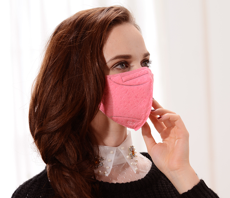 free sample earloop colorful pm 2.5 anti pollution face mask with design