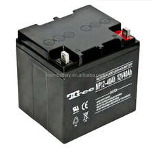 Free Maintenece rechargeable vrla deep cycle ups battery 12v 42ah battery