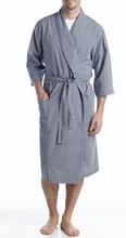 Wholesale Mens Woven Robe With Belt And Two Patch Pockets