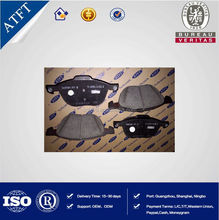 front brake pad, auto accessories, original spare parts car brake pad for ford new focus 2 OEM 7M512K021AALC from alibaba china