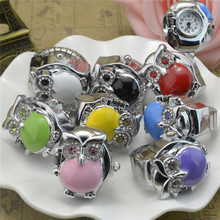 Environmental silver colour samples gratis digits finger ring watch