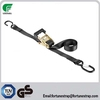 Hot sell in America market 25mm 1500kgs motocyle ratchet tie down strap,cargo lashing strap,cargo control