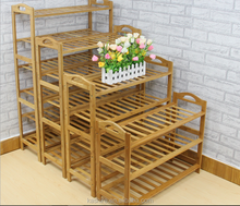 2015 cheap hot selling wooden bamboo shoe racks