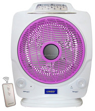 "12"" RECHARGEABLE FAN WITH REMOTE CONTROLLER"