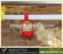 poultry chicken drinking system with lubing nipple cup drinker
