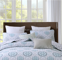 The quilting quilt of home textile products is covered by three sets of American and European foreign trade pure cotton quilted