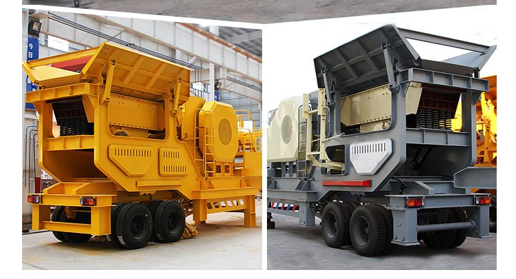 Mobile crawler professional powerful JAW crusher