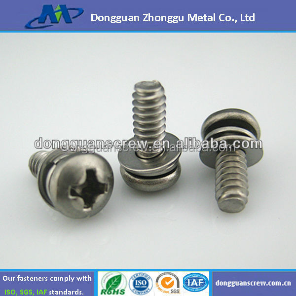 Phillips Pan Head Assembly Screw Fasteners