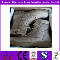 Cheap Waterproof Desert Tactical Boot in Tan Colour