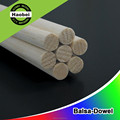 China factory culstomized models balsa flat solid round wood stick