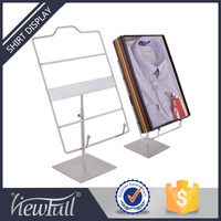Polish finish metal clothes display rack for kids